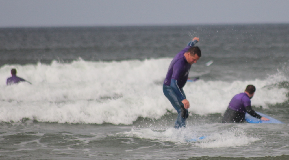 Me not really surfing